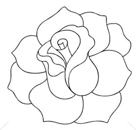 Handleiding as well Dibujos Coloreables Y Moldes furthermore 74370 as well Layered Flower Template together with Quadro Decorado   Flores De Papel. on how to make a rose out of paper